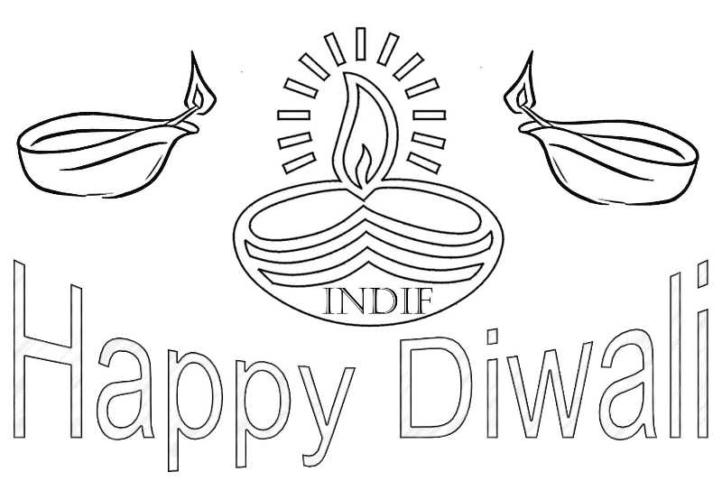 100 free diwali greetings card animated printable coloring pages sheets